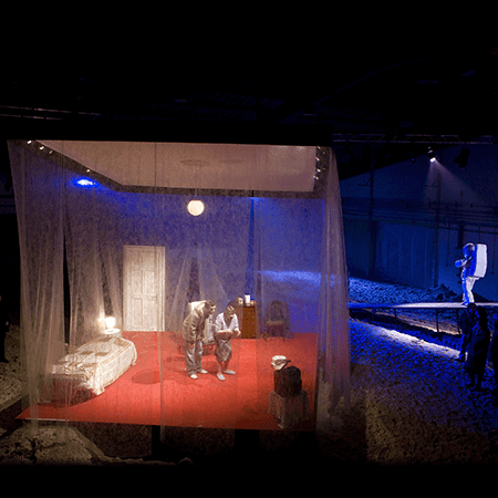 Set and Lighting Design for Home Caithness National Theatre of Scotland